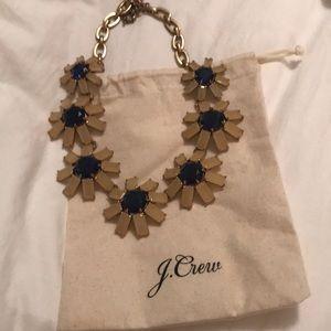 JCrew floral necklace